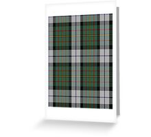 00313 MacLaren Clan/Family Dress Dance Tartan  Greeting Card