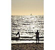Bather's beach Photographic Print