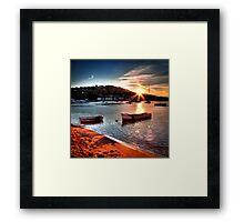 Teignmouth Estuary Framed Print