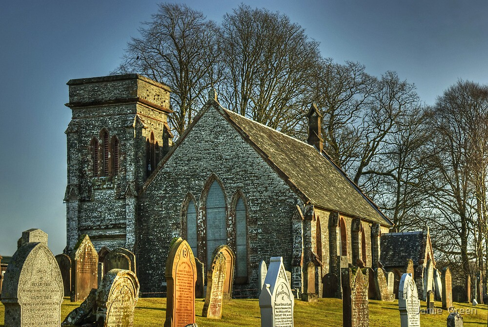 Corsock and Kirkpatrick Durham Church by Jamie  Green
