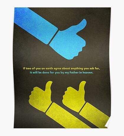 Word: Matthew (We Agree) Poster