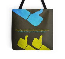Word: Matthew (We Agree) Tote Bag