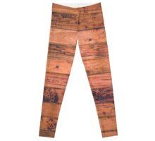 Wood Floor Paneling  Leggings