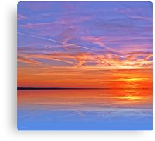 Lake Ending Canvas Print