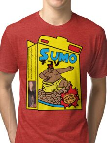 sumo cereal tshirt by rogers bros Tri-blend T-Shirt