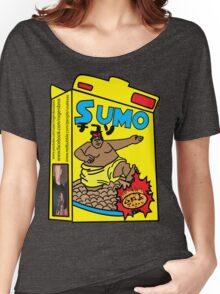 sumo cereal tshirt by rogers bros Women's Relaxed Fit T-Shirt