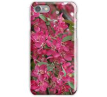 Pink flowers of apple iPhone Case/Skin