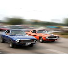 Muscle Cars Photographic Print