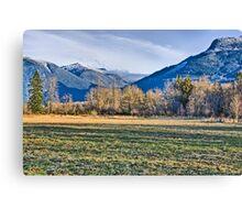 North Cascades Canvas Print