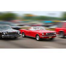 Classic car cruise Photographic Print