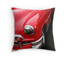 red classic car Throw Pillow