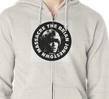 BJM Brian Jonestown Massacre Logo Zipped Hoodie