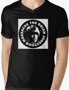 BJM Brian Jonestown Massacre Logo Mens V-Neck T-Shirt