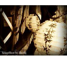 Lanterns Photographic Print