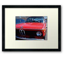 BMW 2002tii Framed Print