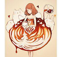 a caffè latte dress. Photographic Print