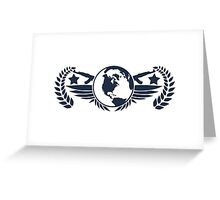 Global Elite Emblem V3 Greeting Card