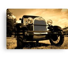 Vintage Automobile Canvas Print