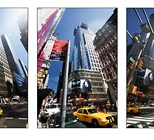 42nd & Broadway by Ted Byrne