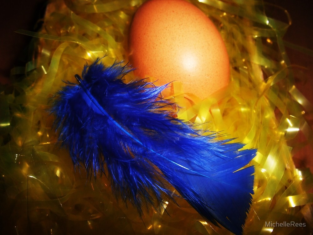 Hatching a Blue Chick?  by MichelleRees