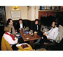 Cosy pub scene, England, 1980s. Photographic Print