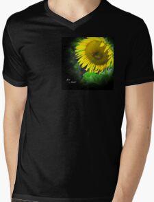 Just a Smile Mens V-Neck T-Shirt
