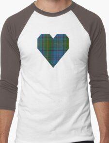 00321 Donegal County Tartan Men's Baseball ¾ T-Shirt