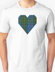 00321 Donegal County Tartan T-Shirt