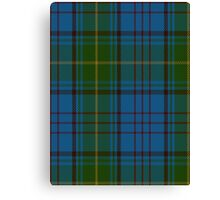 00321 Donegal County Tartan Canvas Print