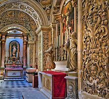 St Mary of Jesus (Ta' Giezu) Franciscan church in Valletta by Edwin  Catania