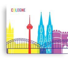 Cologne skyline pop Canvas Print