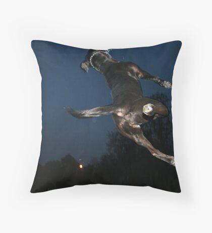 Maya Backflip Throw Pillow