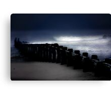 Storm and Sea Canvas Print