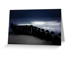 Storm and Sea Greeting Card