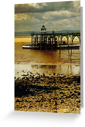 Buy e greeting cards uk - The Waverley at Clevedon Pier, Somerset, UK Greeting Cards & Postcards