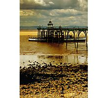 The Waverley at Clevedon Pier, Somerset, UK Photographic Print