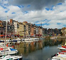 Honfleur, Normandy France by Lanis Rossi