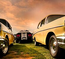Two Muscle Cars by snehit