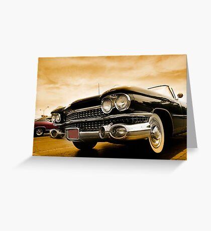 Classic Cars Greeting Card