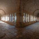 Abbaye de Senanque Cloister by Clayhaus