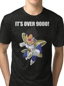 It's Over 9000 Tri-blend T-Shirt