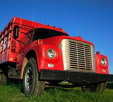 Red Truck by snehit
