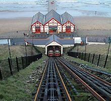 Saltburn Funicular Railway by Paul  Green