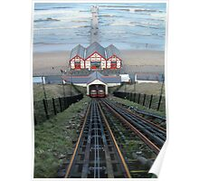 Saltburn Funicular Railway Poster