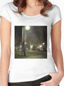 The Crime Scene Women's Fitted Scoop T-Shirt