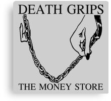 Death Grips Money Store Canvas Print