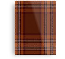 00324 Down County (District) Tartan  Metal Print