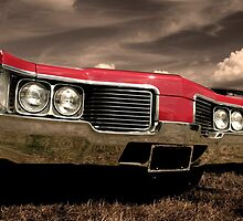 Red Car In Motion by snehit