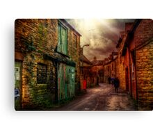 Witney Backstreets Canvas Print