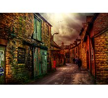 Witney Backstreets Photographic Print